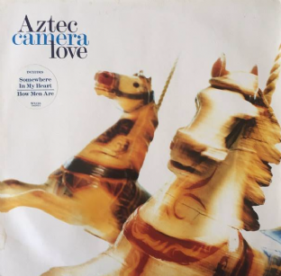 Aztec Camera ‎- Love (LP) (VG/G++)